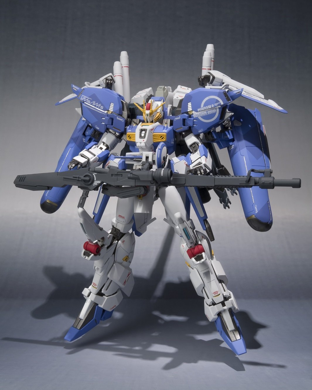 Gundam Sentinel Bandai Metal Robot Spirits (Damashii) (Ka signature) -SIDE MS- Ex-S Gundam Figure Rinkya