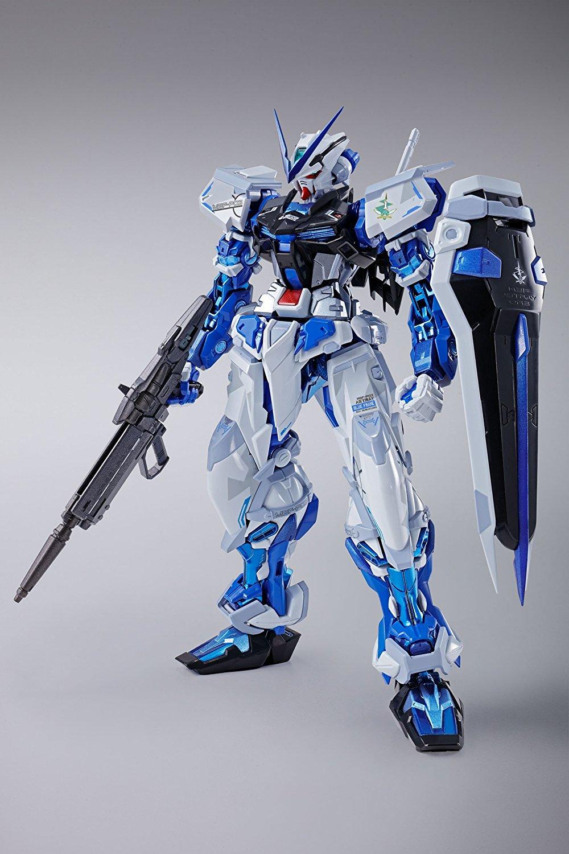 Gundam Seed Astray Bandai Metal Build Gundam Astray Blue Frame (Full Weapon Set) Figure Rinkya