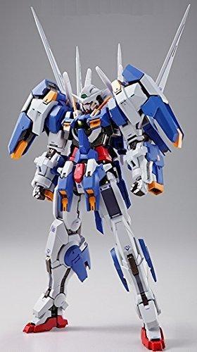 Gundam 00V Bandai Metal Build Gundam GN-001/hs-A01 Gundam Avalanche Exia + Weapon Pack Figure Rinkya