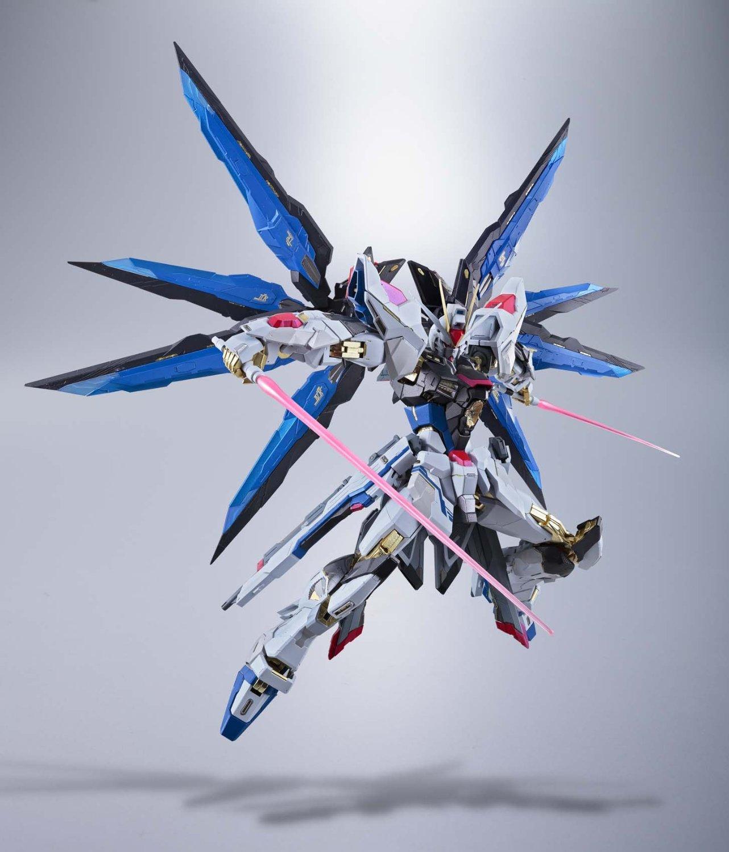 Mobile Suit Gundam SEED Destiny Bandai Metal Build Strike Freedom Gundam Figure Rinkya