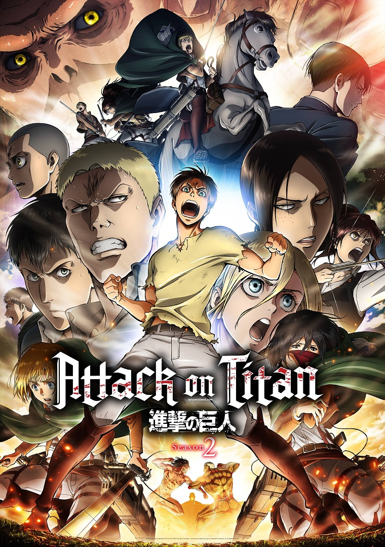 Aot season 2 date confirmed plus linked horizon to do op song again