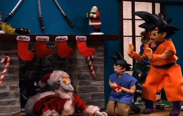 Robot Chicken Dragon Ball Z Christmas Goku Gohan
