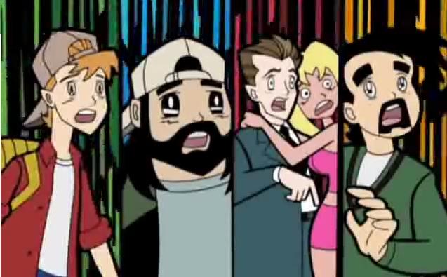 Clerks Silent Bob Jay Randall Parody Anime