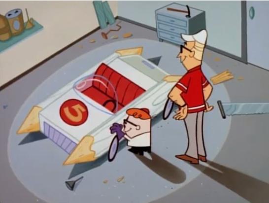 Dexter's Laboratory Speed Racer Mach 5