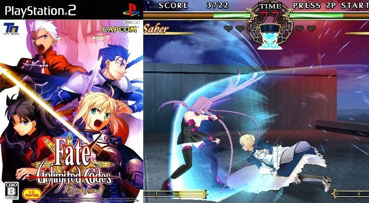 Fate Unlimited Code Cover Game