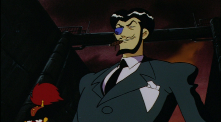 Alberto smoking cigar, Alberto, Giant Robo