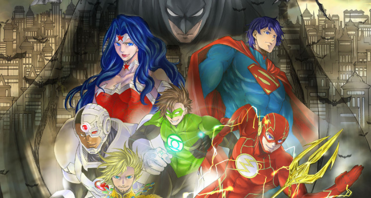 Batman and the Justice League Shiori Teshirogi