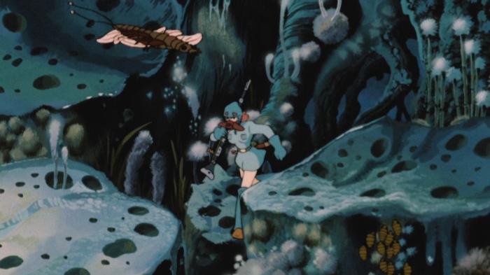Nausicaä walking in the toxic jungle, Nausicaä, Nausicaä of the Valley of the Wind