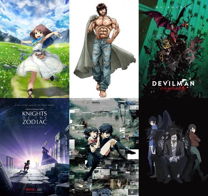 Netflix Slate 2017 Announces New Anime - MyAnimeList net