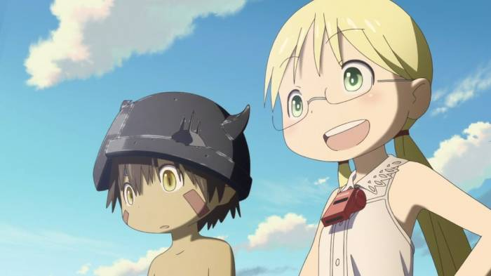 Regu and Rico looking ahead, Regu, Rico, Made in Abyss