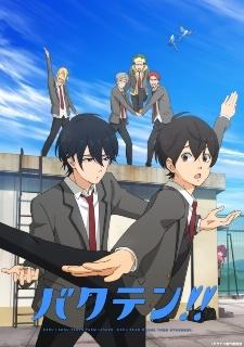 Original TV Anime 'Bakuten!!' Announced for Spring 2021
