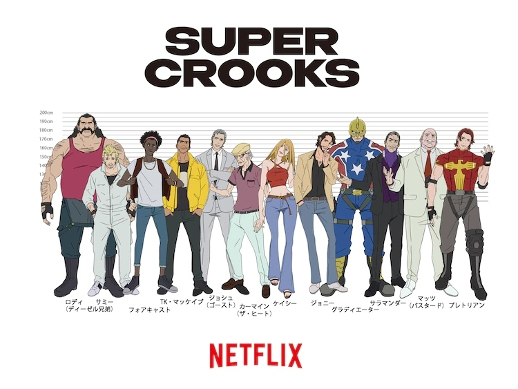 Bones' 'Super Crooks' Anime Series Announces Staff